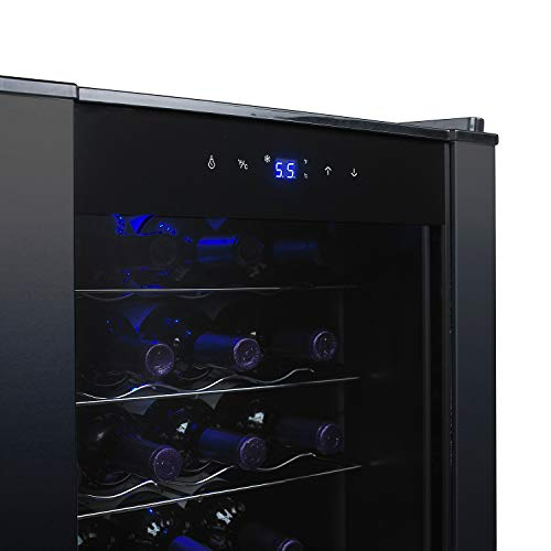 20-Bottle Evolution Series Wine Refrigerator (Black Stainless Steel Trim) by Wine Enthusiast (Image #5)