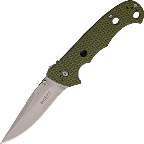 Columbia River CRKT Hammond Cruiser Zytel Handle Knife, - Steel Cruiser Knife