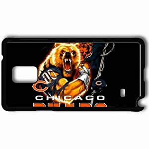 Personalized Samsung Note 4 Cell phone Case/Cover Skin 1301 chicago bears Black
