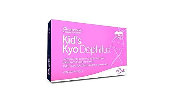 VITAE - KYODOPHILUS KIDS 30comp VITAE: Amazon.es: Salud y cuidado personal