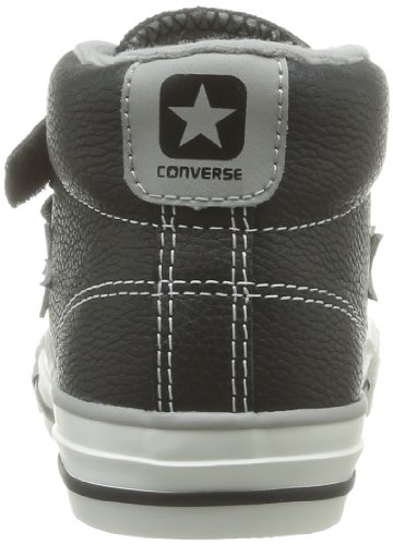 Converse 81 Noir Noir mode Baskets Gris Player Mid Leather enfant 3V mixte Star rqn4PvZwr