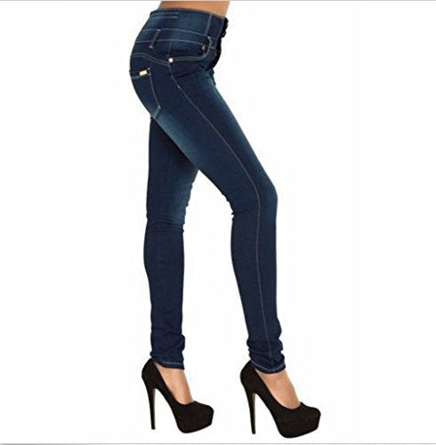Femme TieNew Denim Leggings Slim Sexy Dchirs Crayon Pantalons Collant Printemps Jeans Haute Taille rrq5wBE8