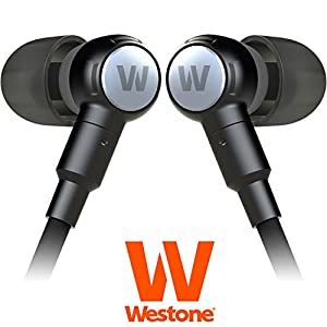 Westone Second Generation Adventure Series Beta - High Performance In-Ear Weather Resistant Sport Headphones w/ Inline Mic & Volume Controls iOS Compatible iPod, iPhone, iPad