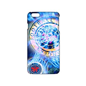 Wish-Store Shiny blue football club 3D Phone Case for iPhone 6 Kimberly Kurzendoerfer