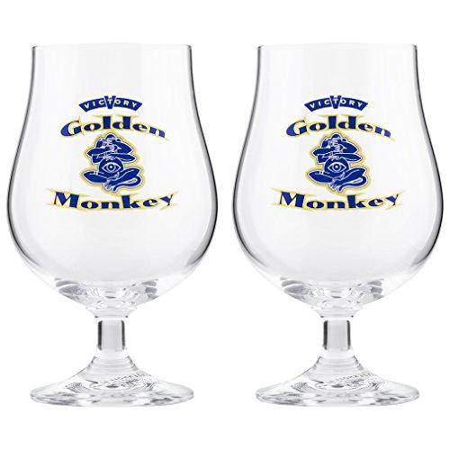 - Boelter Brands Golden Monkey Victory Goblet (2 Pack), 0.4 L