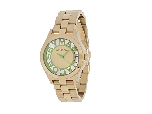 Marc Jacobs Women's Henry Skeleton Watch - Gold tone