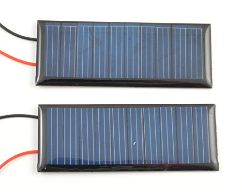 Small Solar Panel 5 0V wires product image