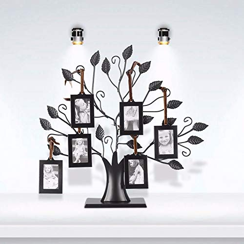 MMYU Photo Frame Rectangular Pattern Photo Cadre Family Bedroom Living Room Decoration Tree Photo Frame