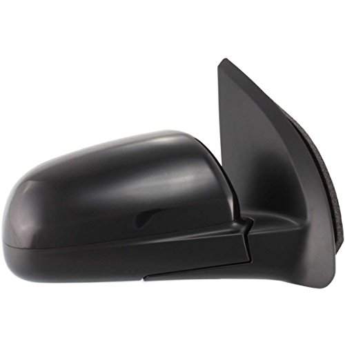 New Front Right Passenger Side Manual Door Mirror For 2007-2011 Chevrolet Aveo Manual Remote, Manual Folding, Non-Heated, Sedan, Paint To Match GM1321329