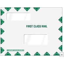 EGP Double Window Tax Organizer Mailing Envelope