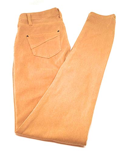 Faded Glory Women's Full Length Knit Color Jeggings (XS (0-2), Golden Bar) from Faded Glory