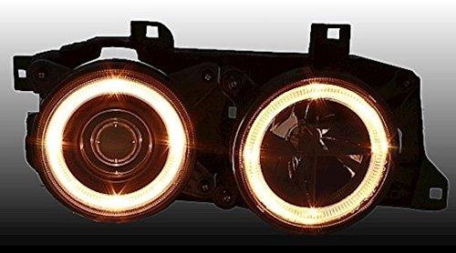 KG 960694/Angel Eyes Faro Set AD Tuning GmbH /& Co Cristal Transparente Negro