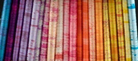 River Silks Sunset Overdye Collection - 4mm Silk Ribbons