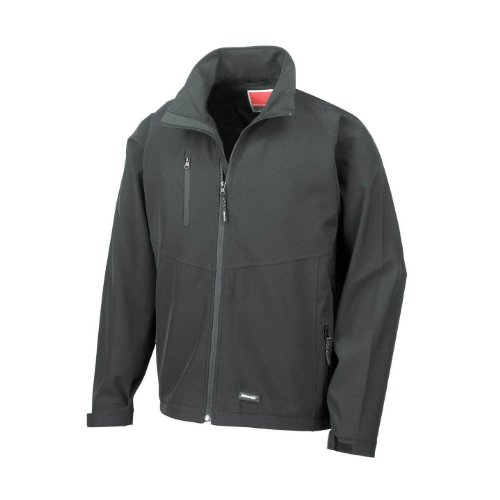 Result Mens 2 Layer Base Softshell Breathable Wind Resistant Jacket (XXL) (Result 2 Layer Base)
