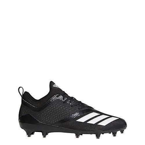 adidas Adizero 5Star 7.0 Cleat Men's Football 10 Black-White by adidas