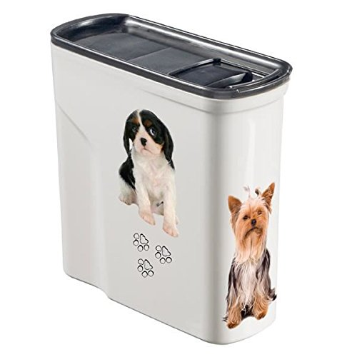 Curver Pet Dry Food Container with Lid,2 Litre