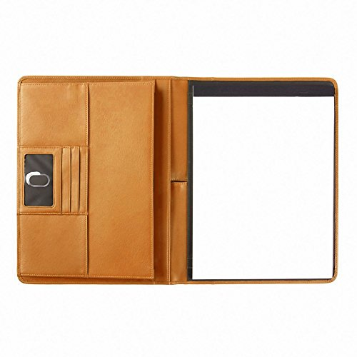 Leather Deluxe Writing Padfolio (Leatherology Deluxe Portfolio - Full Grain Leather - Cognac)