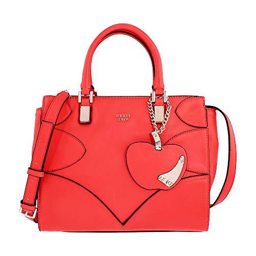 Guess Bags Hobo, Women's Cross-Body Bag, Red (Poppy), 14.5x24x29 cm (W x H L) - Guess Top Zip Shoulder Bag