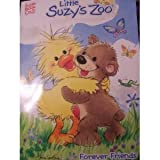 Little Suzy's Zoo Fun Coloring & Activity Books 4-Pack