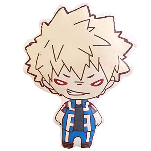 Adonis Pigou Anime Boku No Hero My Hero Academia Peluche Almohada cojín 15.7 Pulgadas, Japonés, Bakugou Katsuki, Large