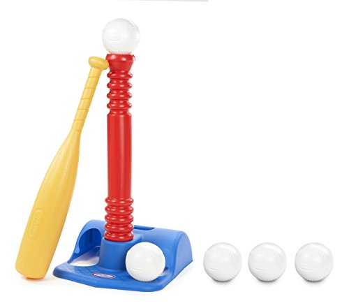 Little Tikes T-Ball Set (Red) w/5 Balls – Amazon Exclusive by Little Tikes (Image #1)