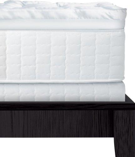 serta 4 inch dual layer mattress topper queen new ebay. Black Bedroom Furniture Sets. Home Design Ideas