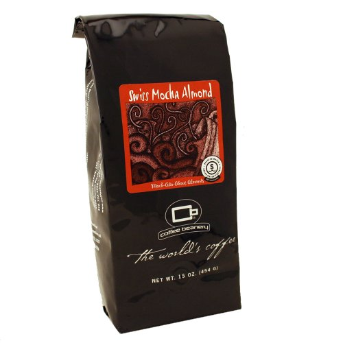 Coffee Beanery Swiss Mocha Almond Flavored Coffee SWP Decaf 16 oz. (Automatic Drip)
