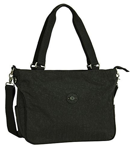 Bag Big 1 Design Large Handbag Black Handle Shop Tote Top Large Size Rainproof Shoulder Shopping Fabric vvqrgO