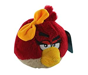 Red Lady Angry Birds Plush - Girl Red Angry Bird Plush
