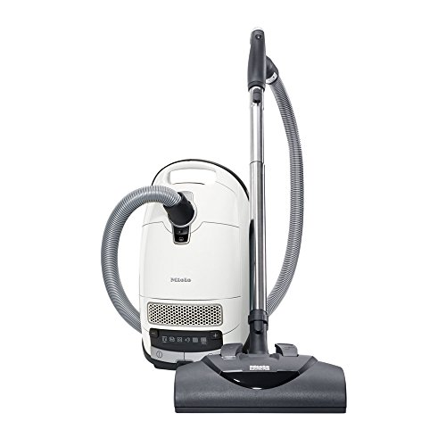 Miele Complete C3 Cat & Dog Canister Vacuum-Corded, Lotus White