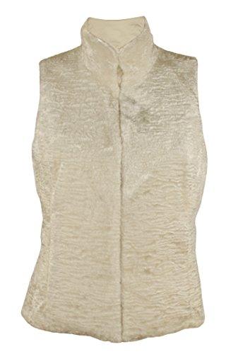 (Lauren Ralph Lauren Women's Plus Size Reversible Vest, Modern Cream (2X Plus))