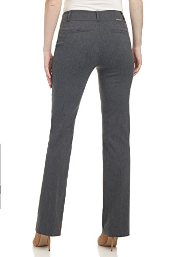 Rekucci Women's ''Ease In To Comfort Fit'' Barely Bootcut Stretch Pants (18,Charcoal) by Rekucci (Image #3)