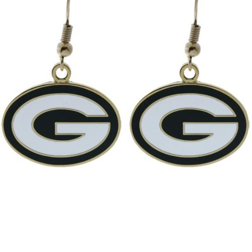 NFL Green Bay Packers 47676061 Earrings Jewelry Card by WinCraft