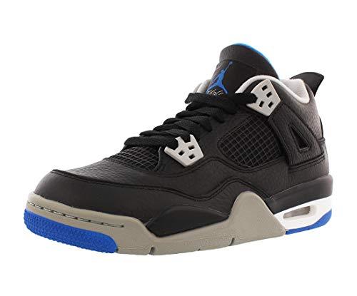 Nike Air Jordan 4 Retro BG Black/Silver/White 408452-006 (6)