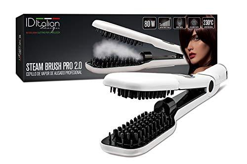 Spazzola lisciante per capelli a Vapore Brush - Italian Design Id Italian 8432729053678 IDESTEAMBRUSH_BLANCO