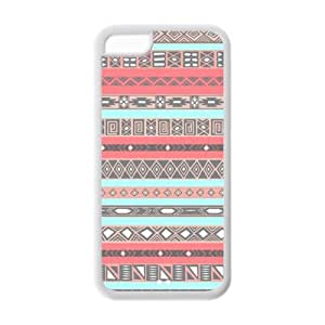 MMZ DIY PHONE CASECustomize Aztec Tribal Plastic and TPU Cases for iphone 6 plus 5.5 inch (Cheap IPhone5),Back case