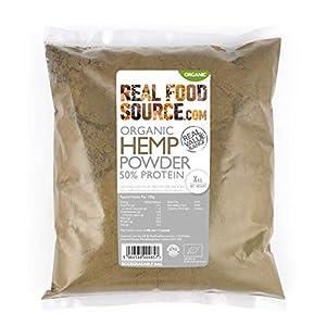 RealFoodSource Certified Organic Hemp Protein Powd...