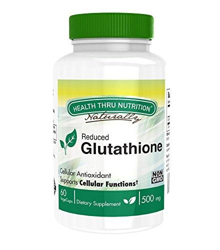 Health Thru Nutrition Glutathione Vege Capsules