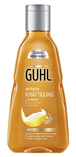 Thickers Root Beer - GUHL Intensive Strengthening Shampoo Beer Limp Fine Hair 250ml 8.45oz