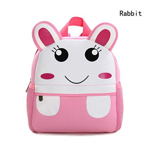 Waterproof School Bag/Backpack for Kids (rabbit) by Yeelan