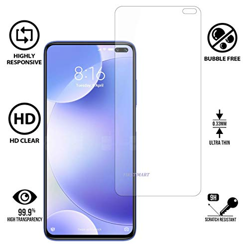 Screen Protector Tempered Glass Poco X2-with Hammer Proof