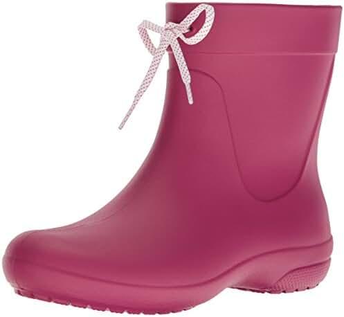 Crocs Women's Freesail Shorty Rainboot Rain Boot
