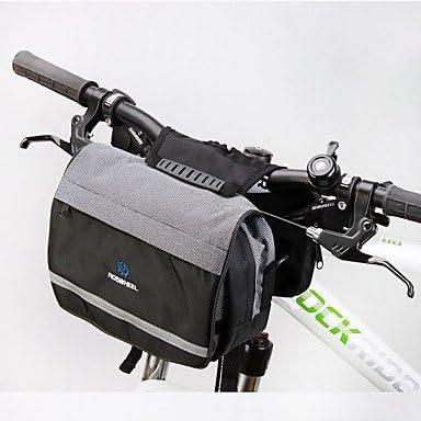 Bolso para bicicleta de ROSWHEEL, bolsa para manillar de ciclismo ...