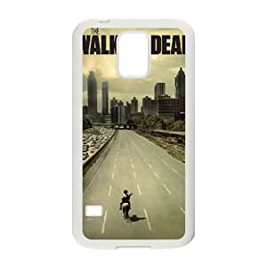 Samsung Galaxy S5 Cell Phone Case White The Walking Dead 003 Delicate gift JIS_282826