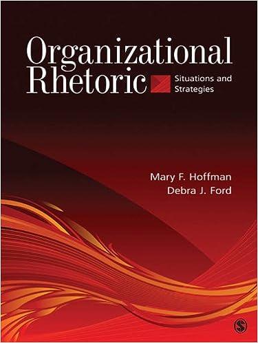 Organizational Rhetoric: Situations and Strategies
