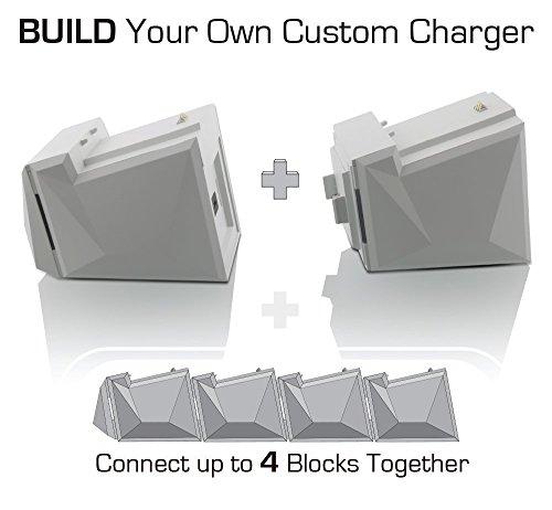 Nyko charge block solo white xbox one virtual gamers network nyko charge block solo white xbox one ccuart Choice Image