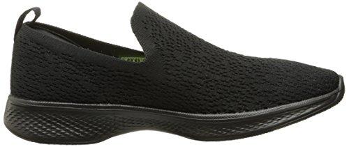 Negro gifted Skechers Walk Go 4 Zapatillas Mujer wUYYaqx6