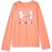 Under Armour Girls' Big Logo Long Sleeve Shirt