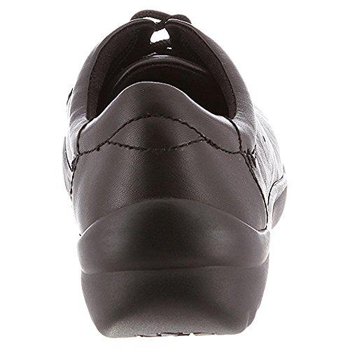 Kapsels Dames Pisa Sneaker Zwart, Zwart, Soepel