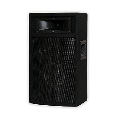 Acoustic Audio by Goldwood Acoustic Audio PA-500X Passive 800 Watt 3-Way Pair DJ PA Karaoke Studio Speakers by Goldwood Sound, Inc.